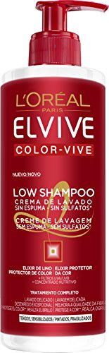 Elvive Color-Vive Shampoo Crema di Lavaggio, Unisex - 400 ml