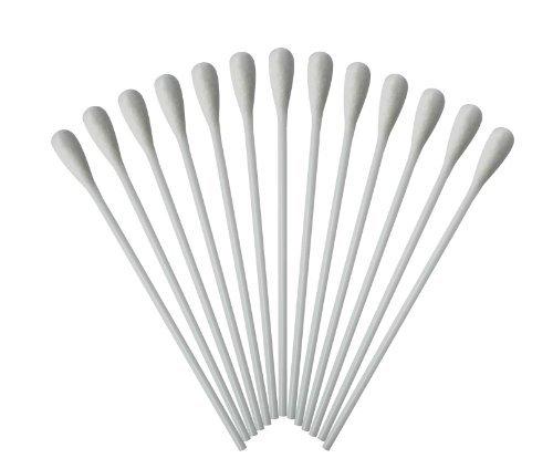 Wattestäbchen mit großem Kopf Watteträger PE-Stab 15cm 500 Stück hygienisch verpackt Original Tiga-Med Qualität
