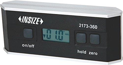 Insize 2173–360Digitale Wasserwaage und Winkelmesser, 0–360Grad, 90Grad x 4