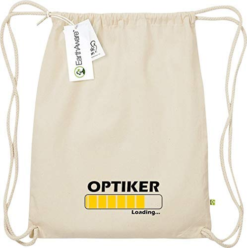 shirtinstyle Organic Gymsac Chargement lunettes et opticiens, meilleur professions - Nature, 47 cm x 37 cm