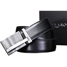 10974b23f14d AZZARO - Ceinture 21006 Reversible Noir Marron