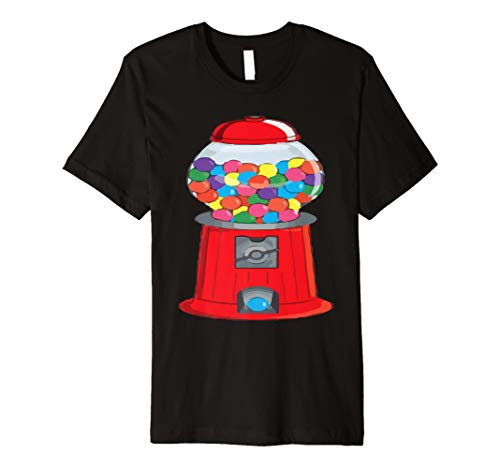 (Gumball Maschine Bubblegum Halloween-Kostüm T-Shirt)