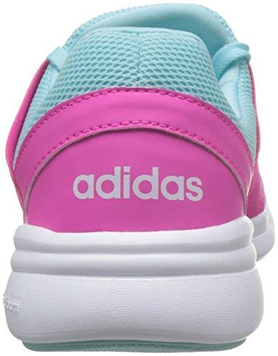 adidas Cloudfoam Xpression W, Scarpe Sportive Donna Rosa / Bianco / Blu (Rosimp / Ftwbla / Azuent)