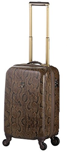 ... 50% SALE ... PREMIUM DESIGNER Hartschalen Koffer - Heys Novus Art Leopard Braun - Handgepäck Schlange