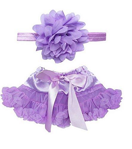 Roll Und Rock Mädchen Kostüm (Happy Cherry Baby Fotografie Prop Haarbänder Rock Set Foto Fotoshooting Outfit Kostüm Tutu Rock Bekleidung für Neugeborene Mädchen 0-12 Monate)