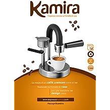 Kamira, il caffè espresso cremoso sul fornello di casa senza cialde e capsule (acciaio (1 Tazza Di Caffè In Cialde)