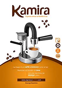 kaffeemaschine kamira der cremige espresso auf den herd. Black Bedroom Furniture Sets. Home Design Ideas