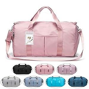 FEDUAN das Original, Sporttasche Reisetasche modisch wasserdicht mit Schuhfach Nassfach für Damen und Herren Yoga…