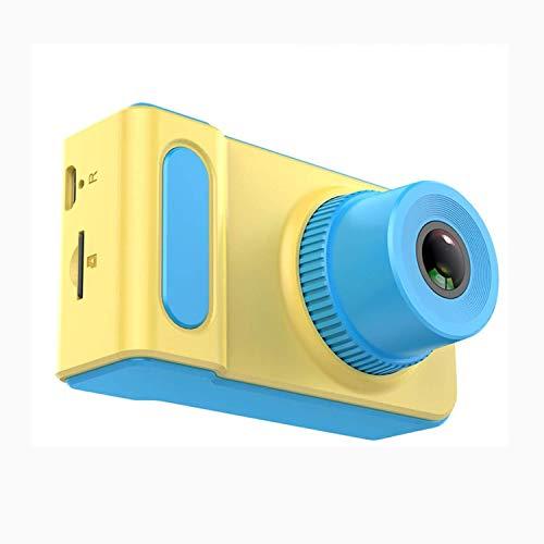 KJRJKD Kinderkamera for Jungen Geschenke HD 1080P Kinder Digitalkameras Mini Kinderkamera Anti-Fall Kind Spielzeug Camcorder for Alter 3-12 mit Stoßfest (Color : Blue)