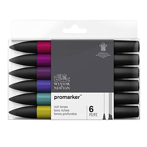 Winsor & Newton Promarker - 6 pennarelli Toni Ricchi