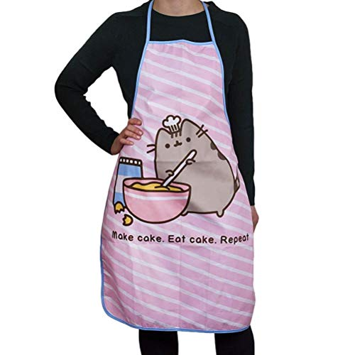 Thumbs Up Pusheen Delantal, Color Rosa