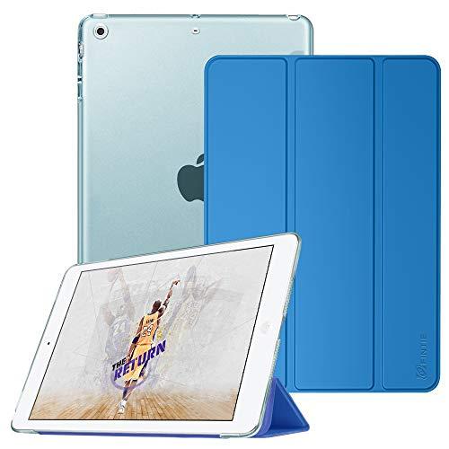 Fintie iPad Mini Hülle - Ultradünne Superleicht Schutzhülle mit transparenter Rückseite Abdeckung Cover mit Auto Schlaf/Wach Funktion für Apple iPad Mini/iPad Mini 2 / iPad Mini 3, Königsblau (Fintie Ipad Mini 2 Case Tastatur)