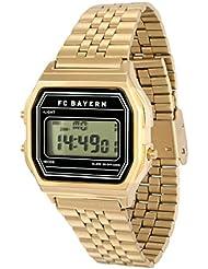 Horloge numérique Rétro FC Bayern München + GRATIS Stickers, horloge, montre bracelet,