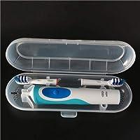 فرشاة الأسنان حامل حامل المحمولة المحمولة تخزين مربع حامل السفر ب البلاستيك الكهربائية مربع حامل الحاويات المنزل المنظم