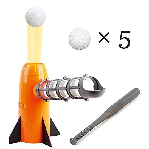 ASDF Elektronische Baseball-Pitching-Maschine, Trainingssport, Kinder-Baseball-Freizeitsport-Spielzeug Automatische Pitching-Maschine für Kinder (Für Baseball Pitching-maschine)