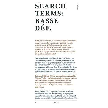 Search terms : Basse déf