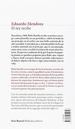 Opinión y Reseña del libro EL REY RECIBE de Eduardo Mendoza