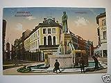 AK Darmstadt Bismarckdenkmal Ludwigsplatz 1916 Brunnen