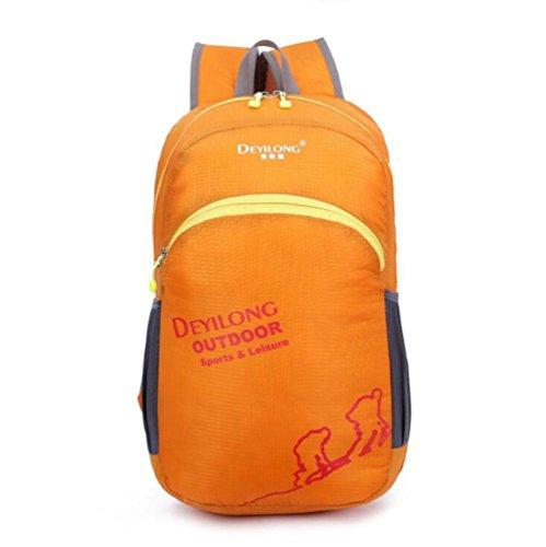 SZH&BEIB Faltbare Rucksack wasserdicht Nylon für Außenreit Tasche Klettern Wandern Wasserbeutel E
