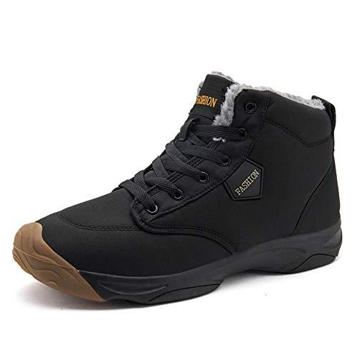LiYa Winterschuhe Damen Herren Wasserdicht Winterstiefel Warm Gefüttert Schneestiefel Rutschfest Outdoor Boots Winter Schuhe Sneaker 36-46