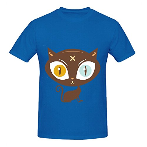 the-cat-did-it-mens-crew-neck-funny-tee-shirts-blue