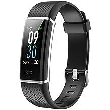 Willful Fitness Armband mit Pulsmesser,Wasserdicht IP68 Fitness Tracker Farbbildschirm FitnessUhr Aktivitätstracker Schrittzähler Uhr Smartwatch Damen Herren Anruf SMS Beachten für iOS Android Handy