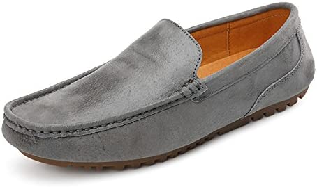 Los Zapatos de Guisantes de Cuero del Día del Padre