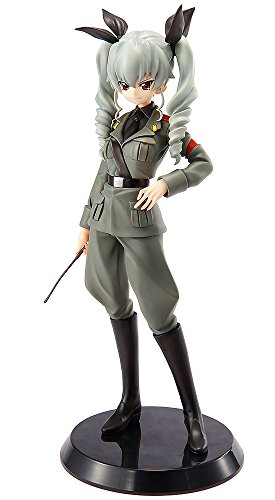 good Smile Girls Und Panzer Commander Girls Collection: Sardellen PVC Figur (Standard Version) (Maßstab 1: 8)