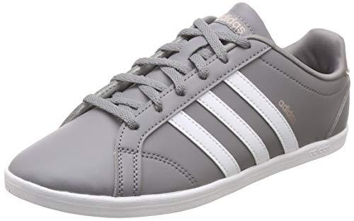 Adidas Damen Coneo QT Fitnessschuhe, Grau (Grethr/Ftwwht/Vapgre), 39 1/3 EU (6 UK) -