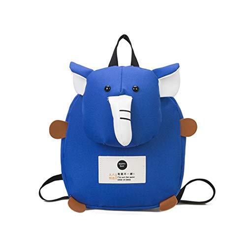 NanNanio Nueva mochila de elefante infantil de dibujos animados para niños y uso diario Infantil