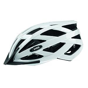 Uvex IVO - Casco de ciclismo, color blanco, talla 56-60