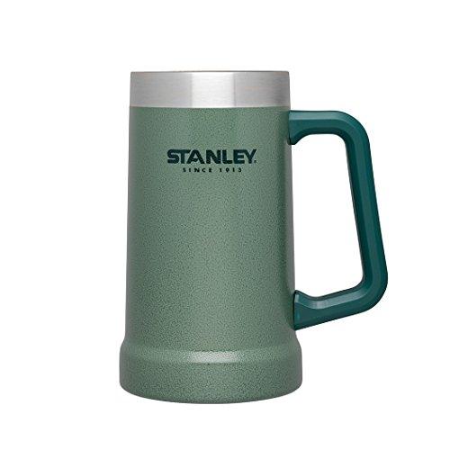 Stanley Doppelwandiger Edelstahl-Krug, vakuumisoliert, 0.7 L, hammertone green