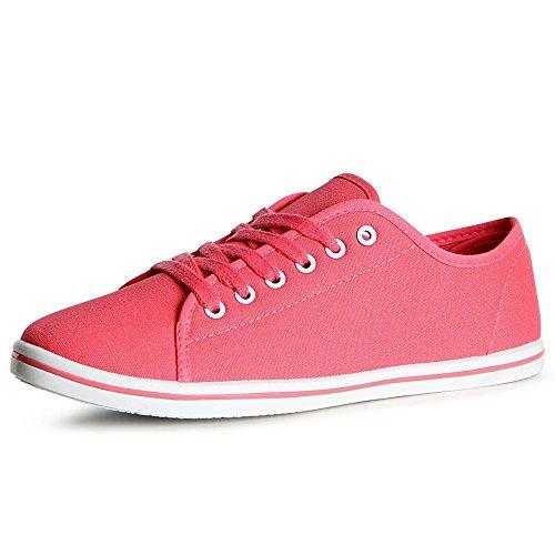 topschuhe24, Sneaker donna Pink