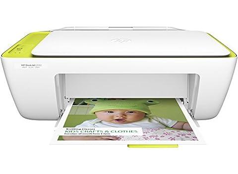 HP DeskJet 2132 (A4) Colour Inkjet All-in-One Printer (Print/Copy/Scan) Integrated Memory 7.5ppm (Mono) 5.5ppm (Colour) 1,000 (MDC) 66 sec (Photo)