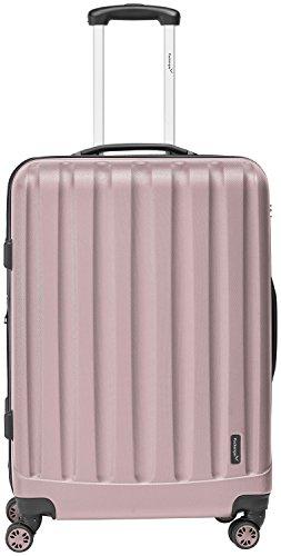 Packenger Velvet Koffer, Trolley, Hartschale  3er-Set in Mauve, Größe M, L und XL - 2