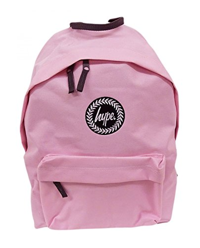 Hype rosa pastel INSIGNIA Mochila Bolso - Ideal Escuela Bolso - Mochila Niño y niña