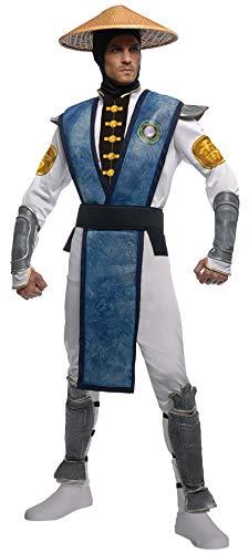 Mortal Kombat Raiden Kostüm für Erwachsene - - Mortal Kombat Sub Zero Kostüm