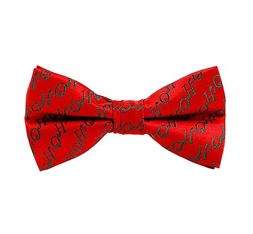 Ogquaton 1X Men 's Bowtie Fashion Weihnachten Pre-Tied Bowknot Hochzeitsfeier langlebig und nützlich Pretied Bowties