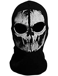 """Neck mask - SODIAL(R)Round neck mask Hood """"Ghost Skull"""" -Call Of Duty Modern Warfare - Airsoft Paintball motorcycle Outdoor color # 8"""