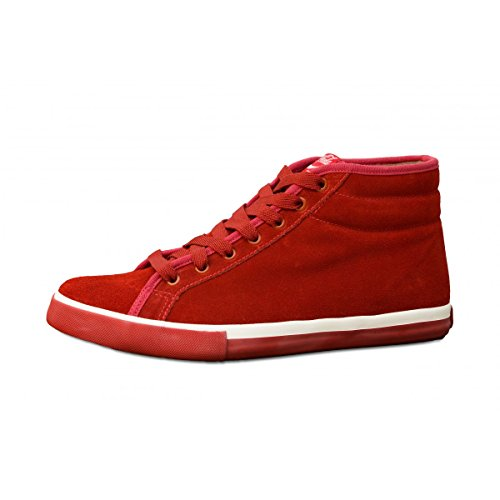 Coca Cola Sneakers Uomo Verona in Pelle - Rosso