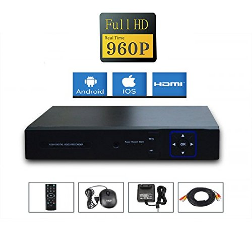 Kit-videovigilancia-4-Cmaras-Full-AHD-Sony-960p-13-mp--2000-GB-4-CABLE-de-40-M-pantalla-22