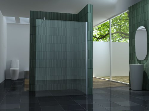 Preisvergleich Produktbild 10 mm Duschtrennwand FREE 140 x 200 cm