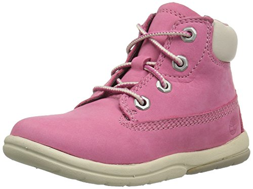 Timberland Kids Toddle Tracks 6 Inch Stiefel, Pink (Fuschia Rose), 27 EU