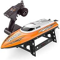 Esun Europe UDI001 Fernsteuerung RC Boot 2,4GHz 25km/h High Speed RC Racing Boot Rennboot für Anfänger und Kinder