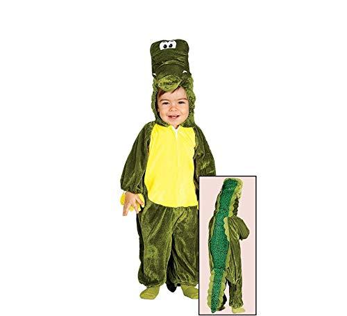 Baby Krokodil - Kostüm für Kinder Gr. 86 - 98, Größe:86/92