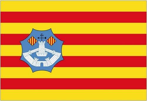 Autoaufkleber Sticker Fahne Spanien - Menorca Flagge Aufkleber