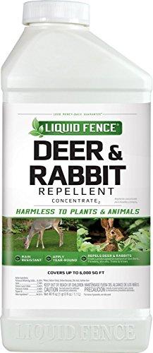 Liquid Fence 113 Deer and Rabbit Repellent, 40-Ounce Concentrate Garten, Rasen, Wartung