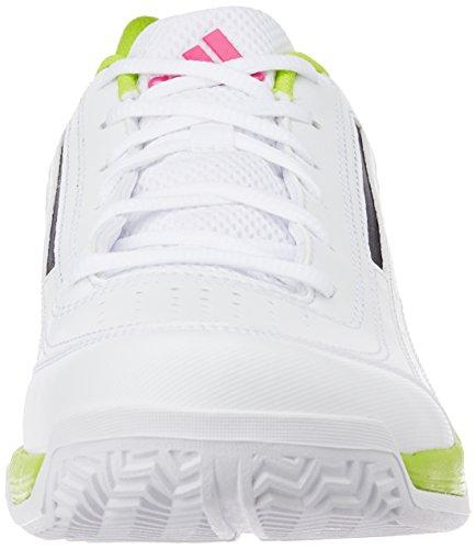 adidas Sonic Attack, Baskets Basses Homme, Mehrfarbig Blanc / Noir / Vert (Ftwbla / Negbas / Seliso)