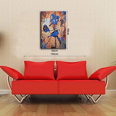 HY&GG Hand-Painted Abstract In Der Vogel Auf Dem Baum Öl Gemälde Fertig Zum Aufhängen Moderne Panels Leinwand Öl Malerei Für Dekoration, 24
