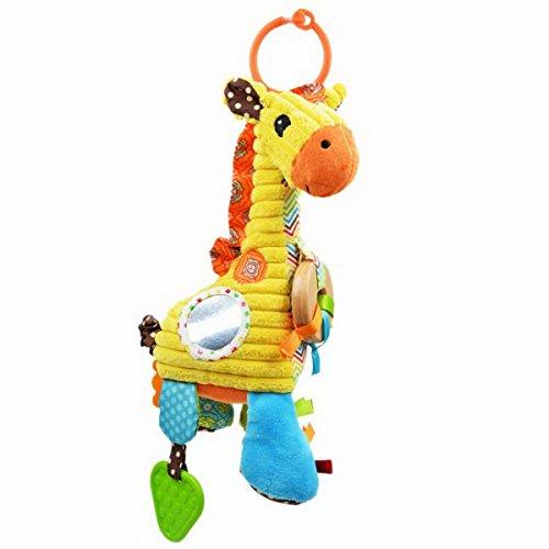 Bed Lathe animal Giraffe Hanging hochets Cadeau Jouet